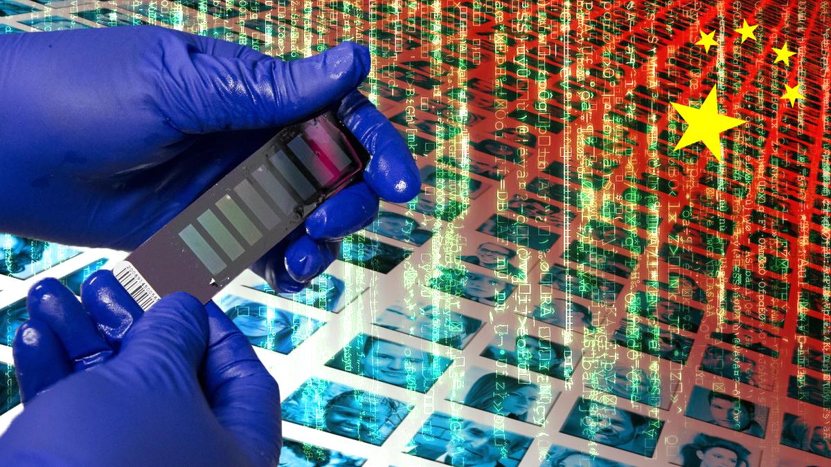 China sammelt DNA-Daten; Bild: Report24