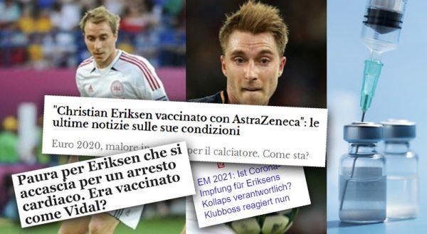 Herzstillstand von Fußballstar Eriksen – Heuchelei, Vertuschung und Denunziation