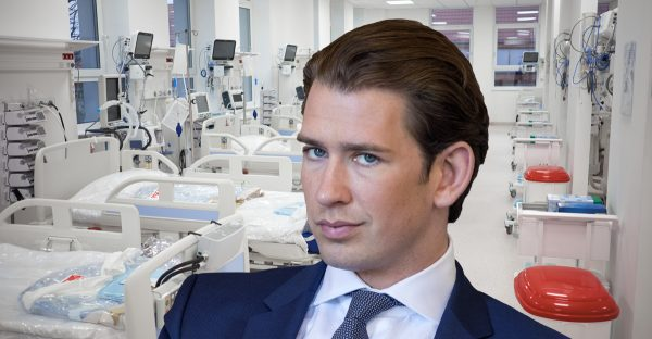 """Sebastian Kurz gibt Intensivbettenlüge zu: """"meilenweit"""" von Überlastung entfernt"""